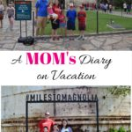 A Mom's Diary on Vacation: Day 2 and 3